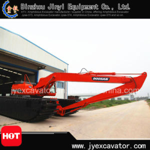 Wetland Equipment Amphibious Excavator Jyae-115