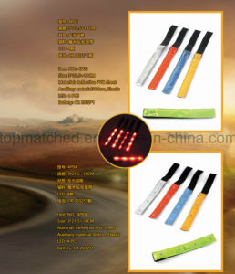 4 LED Classic Reflective LED Bracelet Flashing Armband for Promotion pictures & photos