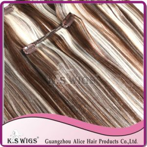 100% Brazilian Clip in Human Hair Extension pictures & photos