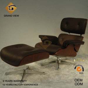 Dark Walnut Wood Eames Leisure Chair (GV-EA670) pictures & photos