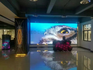 Die-Cast Aluminum Full-Color Indoor LED Display P4 SMD Ultra-Thin LED High-Definition Video Background Wall Panel pictures & photos