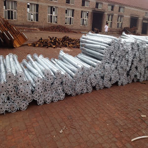 Ground Screw Pole Anchor Helical Screw Piles, Hot DIP Galvanized Ground Screw Pile pictures & photos
