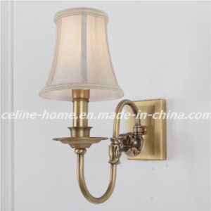 Copper Wall Lamp with Fabric Shade (SL2078-1W) pictures & photos