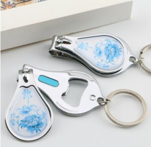 Nail Scissors / Nail File / Bottle opener with Three in One Function pictures & photos