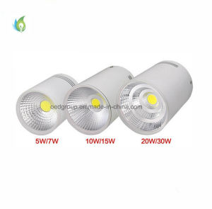 Easy to Install Surface Mounted LED Downlight COB 20W 85lm Per Watt with Ce RoHS Certificate pictures & photos