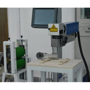 Customized Automatic Marking Line Laser Marking Machine Mark on Plastic pictures & photos