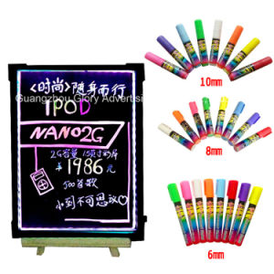 LED Writing Board Feature 48 Flashing Neon Light Settings pictures & photos