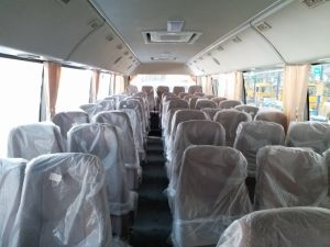 Huazhong 7 Meter 10-23 Seats Coaster Mini Bus (WH6702F) pictures & photos
