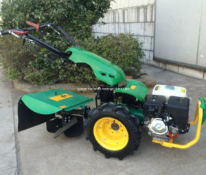 Gasoline or Diesel 6.5HP-9HP Engine Tracor with Rotary Hoe Deep Ploughing Function pictures & photos