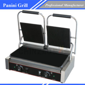 Commercial Double Plate Sandwich Panini Grill pictures & photos