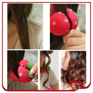 Hottest Hair Rollerdiy Sponge Hair Roller Doing Wave Hair at Home Beauty Hair Curler pictures & photos