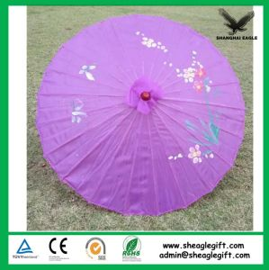 Promotional Logo Customized Oil Paper Umbrella pictures & photos