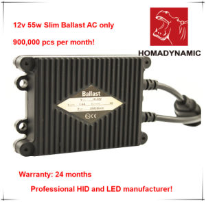 HID Xenon Kit 12V 55W Slim Ballast with 2 Years Warranty, High Quality HID Kit pictures & photos
