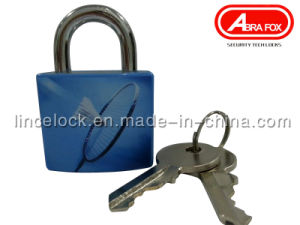 Padlock/ Aluminum Alloy Padlock with ABS Coating Asscorted Printed Design (620) pictures & photos