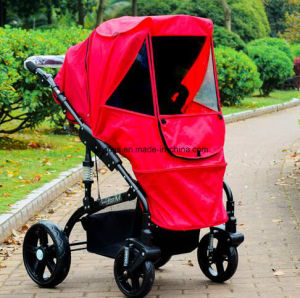 200d Oxford Fabric Water Proof Stroller Weather Shield pictures & photos