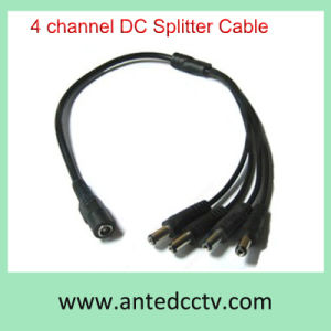 4 Channel DC Power Splitter Cable for CCTV Camera pictures & photos