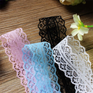 Wholesale Solid Non Strech Nylon Rachel Lace for Children Clothes pictures & photos