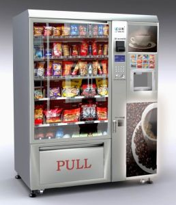 Snack and Cold Drink and Coffee Vending Machine pictures & photos