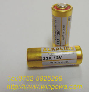 12V 23A Alkaline Dry Battery for Remote Control pictures & photos