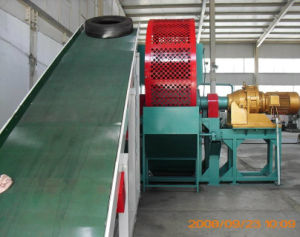 Tire Shredder Machine for Sale/Waste Tire Shredder/Whole Tire Shredder pictures & photos