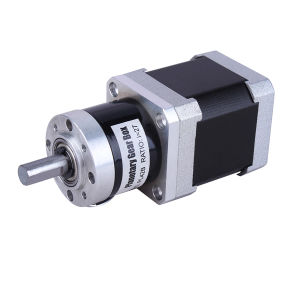 42bygh Hybrid NEMA 17 Gear Reducer Stepper Motor (gear ratio 27: 1) pictures & photos