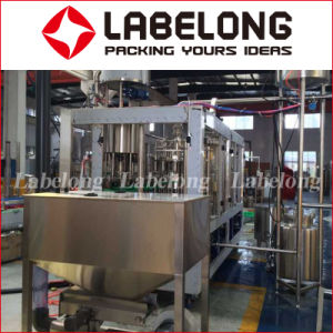 Low Price Automatic Fresh Fruit Juice Bottle Filling Bottling/Packing Machine pictures & photos