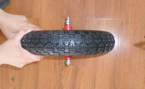 Wheelbarrow Pneumatic Rubber Wheel 3.50-8 Popular in Italia pictures & photos