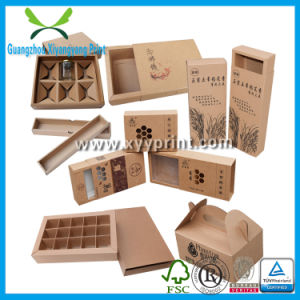 Environmental Recycle Eco-Friendly Gift Kraft Paper Box pictures & photos