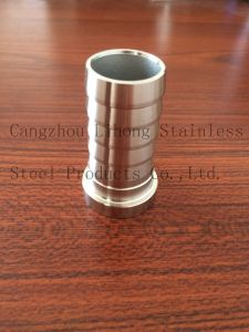 Stainless Steel 304 Pipe Fitting Hose Nipple From Casting pictures & photos