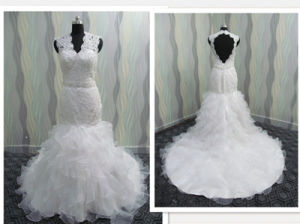 Cape Sleeves Elegant Lace Wedding Dresses