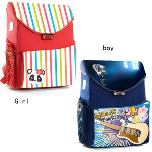 Primary School Shoulder Book Bags for Children pictures & photos