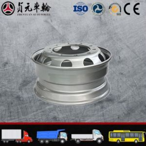 Truck Steel Wheel Rim Zhenyuan Auto Wheel (19.5X6.75) pictures & photos