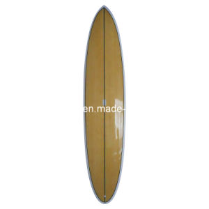 Bamboo Veneer Stand up Paddle Board Surfing Sup Board Epoxy pictures & photos