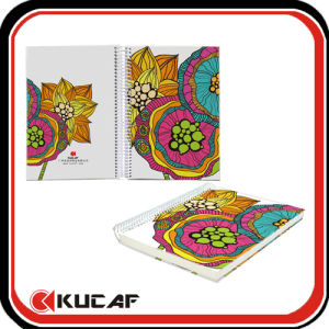 A4 Hardcover Notebook Spiral Wire pictures & photos