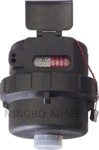 Volumetric Rotary Piston Plastic Body Cold Water Meter (LXH-15S) pictures & photos