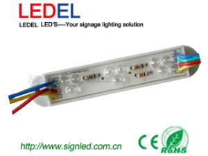 5mm Strawhat LED Module (LLF12R78RGB9)