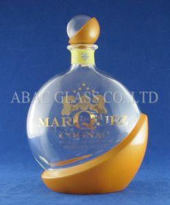 750ml Super Flint Vodka Glass Bottle pictures & photos