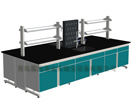 Lab Steel Wood Central Bench (A-BOF-CB-13)