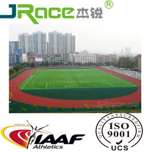 Chinese High Quality Permeable Tpye Athletic Running Track pictures & photos