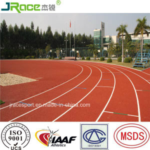 Obtained CE Certificate Rubber Running Track Material pictures & photos