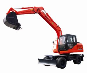 Dual-Drive Wheel Excavator (HTL150-8) pictures & photos