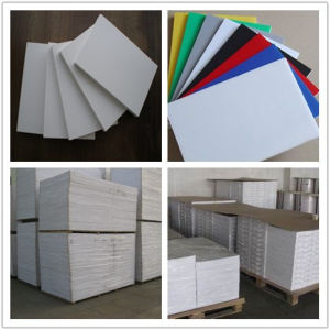 White Color PVC Foam Board pictures & photos