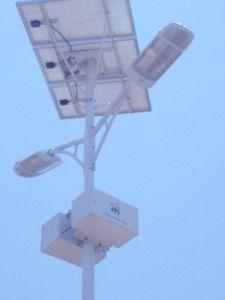 Double Solar LED Street Light (Kenya Nairobi) (SSLD60W +SSLD20W)
