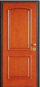 Fire Wood Security Panel Door with UL Certification