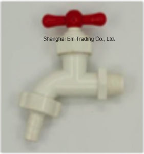 Double Male Thread PVC Tap, Plastic Water Valve pictures & photos
