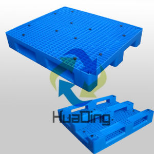 1200*1000*195mm Heavy Duty 3 Runners Closed Deck Hygeian Plastic Pallet pictures & photos