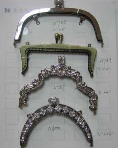 Metal Curved Handbag Frame (BM14)