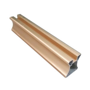 Electrophoresis Golden Aluminium for Wardrobe Door Side Frame pictures & photos