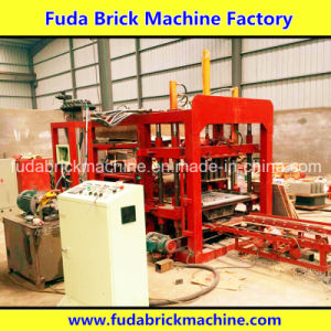 Hydraulic Press System Automatic Concrete Block Manufacturing Plant pictures & photos