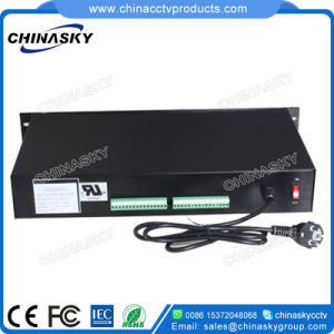 24VAC 10A 16CH Rack Mount CCTV Power Supply (24VAC10A16P/R) pictures & photos